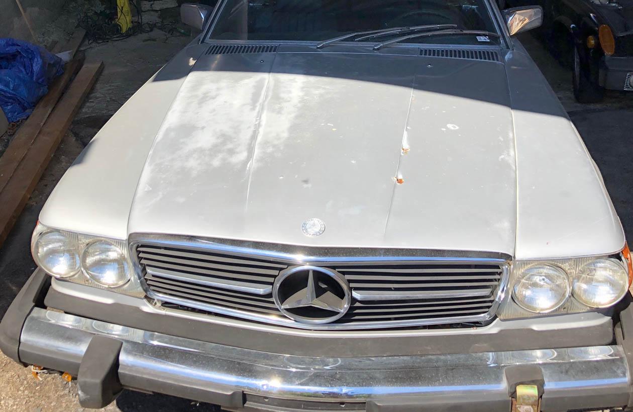 Mercedes 450 SL 1979
